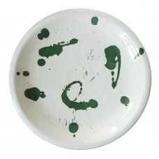 Piatto piano - Ceramiche d'arte Dolfi