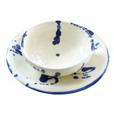 Servizio di piatti - Ceramiche d'arte Dolfi