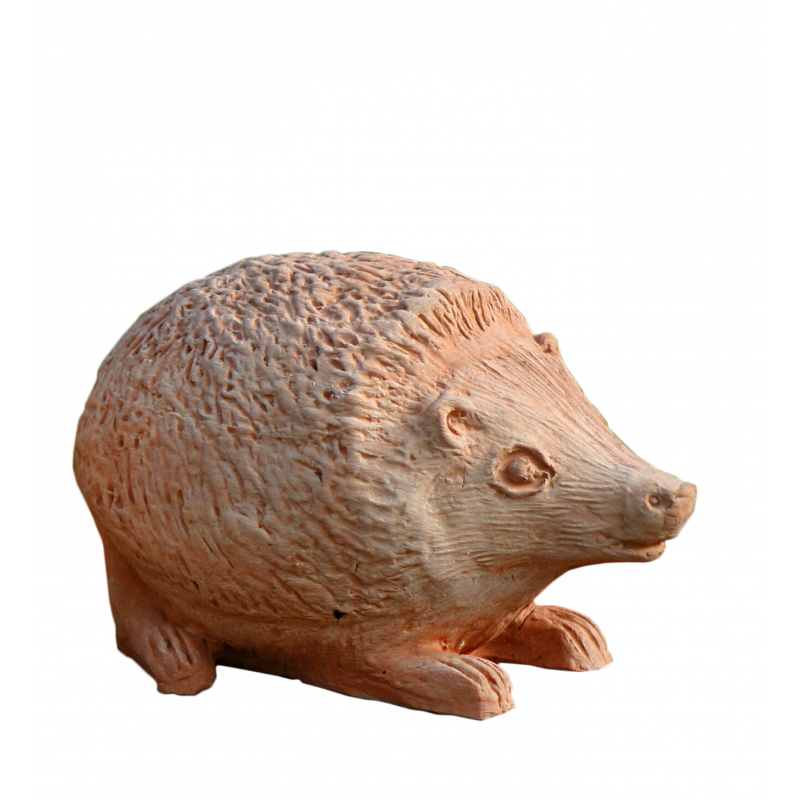 Tris di animali in terracotta