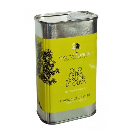 Olio extra vergine di oliva - Azienda Agricola Saltapoggio - raccolto 2016, lattina da 0,5L