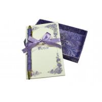 Scatolina con blocco e penna - Carta Fiorentina di Viola Gambassi