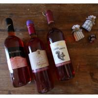 Tris di vini rosati